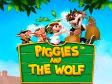 Видео-слот Piggies And The Wolf