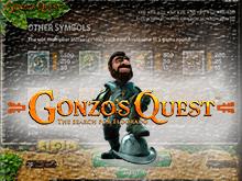 Игровой аппарат Gonzo's Quest